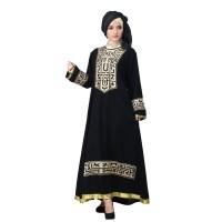 804SWI, gamis/baju/dress muslimah casual/resmi/pengajian wanita hijab