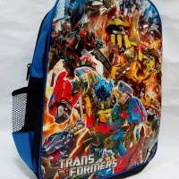 Tas backpack Transformers Optimus Prime Transformer Bumblebee Autobots