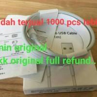 Jual KABEL DATA LIGHTNING USB CHARGER IPAD IPOD IPHONE 5 5S 6 6S ORI CABLE Murah
