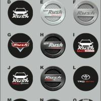 Sarung Ban TRD Toyota Rush Cover Tire Terios Jeep Ecosport Escudo
