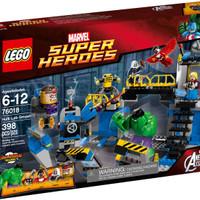 eksklusifff LEGO 76018 - Super Heroes - Avengers: Hulk Lab Smash