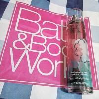 BBW bath and body works pink chiffon body mist 236 ml