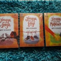 Paket 3 Buku Novel Teenlit jingga dan senja, dalam elegi, untuk mataha