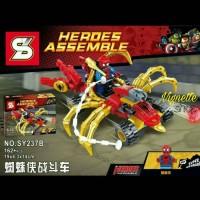 Jual Mainan Lego Spiderman Heroes Assemble Merk SY utk Anaka Laki-laki Murah