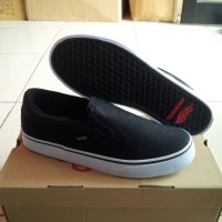 Vans Off The Top Slip On Rowley XL-2 Canvas, Hitam.