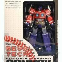 revoltech Optimus Prime Transformers G1 Robot RARE