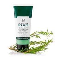 THE BODY SHOP TEA TREE FACE SCRUB 100ML