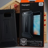 Spigen Capsule Samsung Galaxy J7 Prime on7 Soft Case Rugged Armor TPU