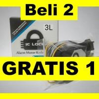 Beli 2 Dapat 3 - IC Lock tipe 3 Sandi   Alarm Pengaman Sepeda Motor