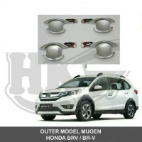 Outer handle Honda B-RV model mugen Chrome