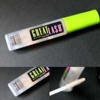 100% ORIGINAL - MAYBELLINE GREAT LASH Clear Mascara Transparent - ORI