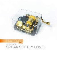 RS-Music Box Collectible Speak Softly Love WSF7D6