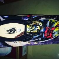 Sepatu Vans slip on edition Iron Maiden premium