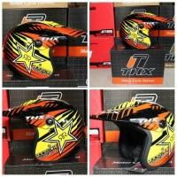 Helm Halface cross THX Rockstar KLX Dtracker KTM Husqvarna