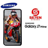 Casing HP Samsung J7 Prime Marquez Moto GP Custom Hardcase Cover
