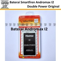 Baterai Smartfren Andromax I2 Original Double Power Bl4pi | Hp, I 2