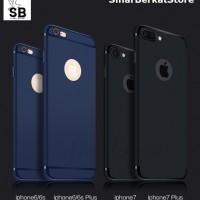 Iphone 6 / 6s MATTE BLACK Soft Silicone Slim Case