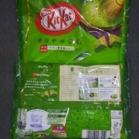 Jual KITKAT GREEN TEA ORIGINAL FROM JAPAN (ISI MINI 12) Murah