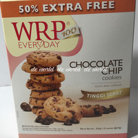 WRP Everyday Chocolate Chip Cookies Snack Cemilan Diet Coklat 18sachet