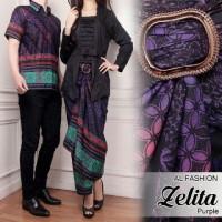 Baju Batik Couple Kebaya Sarimbit Model Ayana Seragam Pesta Hijab