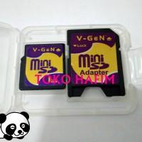 Kartu Memori Mini SD 1GB Memory Card MiniSD 1 GB Nokia + Adapter V Gen