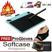 Jual Wacom Intuos Draw CTL-490 Mint Blue BONUS+++ Softcase Antigores Glove Murah
