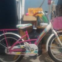 Jual Sepeda Anak Wimcycle 16 - Barbie Kondisi 85% All Normal Murah