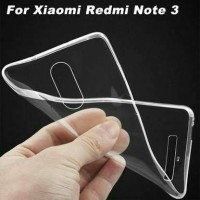 Softcase Transparan Xiaomi Redmi Note 3 /Fit/Ultra Thin/Softcase