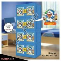 harga Lemari Plastik Lemari Pakaian Doraemon Susun 4 Tokopedia.com