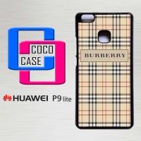 Hardcase Hp Huawei P9 Lite Burberry Wallet Pattern  X4431