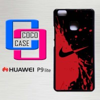 Hardcase Hp Huawei P9 Lite Nike Red and Black X4356