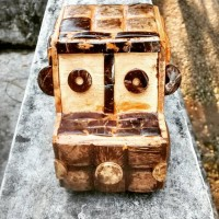 miniatur mobil Batok Kelapa