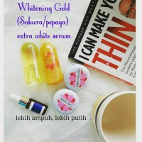 Paket Gold Sakura Nirmala Plus Serum Whitening