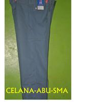 Celana panjang abu-abu SMA/seragam sekolah