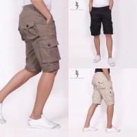 Jual Celana Pendek Cargo-100 Persen Cotton Twill-Available In Slim Fit Murah
