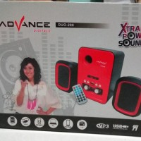 Speaker Laptop Advance Duo 200