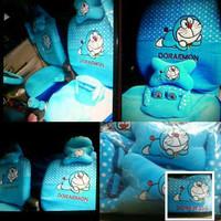 interior Sarung Jok Doraemon 18 In 1 Honda Brio