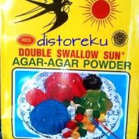 tepung agar agar powder double swallow sun dss