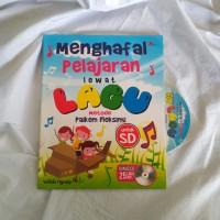 Buku Anak Menghafal Pelajaran Lewat Lagu, Bonus CD 25 Lagu MP3