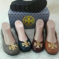 Restock! Sepatu Tory Burch Flat Import Premium