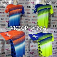 Baju Badminton Victor 6022a Import Edisi Timnas Malaysia Official 2017