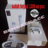 Jual adaptor kabel charger iphone 5 5s 5c 6 6+ ipad mini 5 lightning ORIGIN Murah