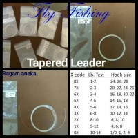 Tapered Leader/ Fly fishing leader line