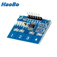 TTP224 4 Channel Digital Capasitive Touch Switch Sensor Sentuh Arduino