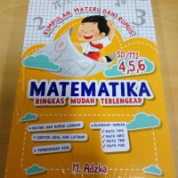 Kumpulan Materi dan Rumus Matematika SD/MI Kelas 4, 5, 6 Oleh M. Adzk