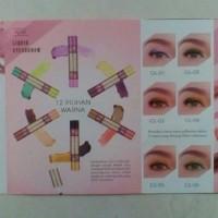 Liquid Eyeshadow SARIAYU 2 warna 2 in 1- Inovasi Gili Lombok 2017 !