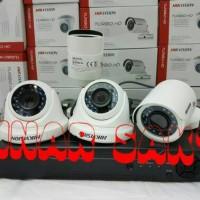 PROMO PAKET CCTV HIKVISION 4CH + 1TB HDD Full HD 2MP ( Komplit Set )