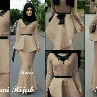 Melani Hijab 4in1 Busana muslim pesta wanita Hijab mode Berkualitas
