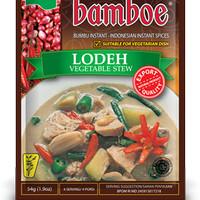 Bumbu Instan Bamboe Lodeh, Tanpa Extract, Essence & Pewarna Buatan
