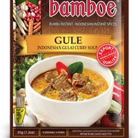 Bumbu Instan Bamboe Gule, Tanpa Extract, Essence & Pewarna Buatan